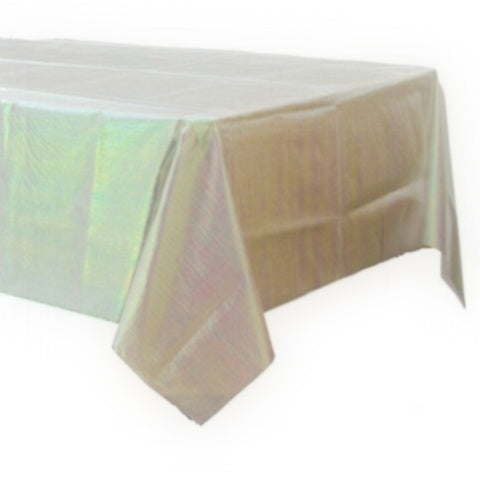 sc 1 st  Ruby Rabbit & Iridescent Clear Plastic Tablecloth \u2013 Ruby Rabbit